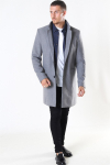Only & Sons Maximus Wool Frakke Light Grey Melange