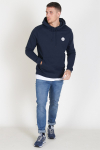 Woodbird Our Shaxy Patch Hoodie Navy