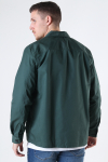 ONLY & SONS ONSNOAR COMPACT LS TC TWILL OVERSHIRT Jungle Green