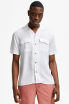 Selected SLHRELAXBILL SHIRT SS G Bright White