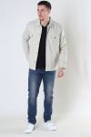 ONLY & SONS ONSILVIO LIFE LS TWILL OVERSHIRT Pelican