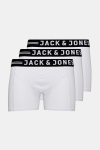 Jack & Jones Sense 3-Pack Boxershorts White