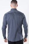Mos Mosh Marco Jersey Skjorte Dark Grey Melange