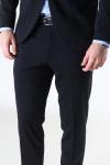 Selected Slim Jim Flex Bukser Black