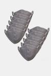 Liebhaveri 10-Pack Mundbind Oxford Grey