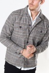Gabba Clipper LS Overshirt Big Brown Check