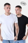 Basic Brand Cam T-shirt 6-Pack Black/White