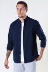 Selected SLHREGNEW-LINEN SHIRT LS CHINA W Navy Blazer