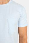 Clean Cut Kolding Tee S/S Light Blue