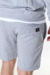Clean Cut Copenhagen Basic Organic Shorts Light Grey Mel