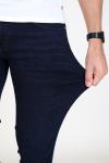 Woodbird Matti Blue Sea Jeans Deep Blue
