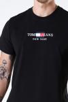 Tommy Hilfiger TJM TIMELESS TOMMY TEE 1 Black