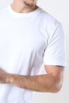 Selected Norman 180 SS O-Neck T-shirt Bright White