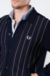 Fred Perry Knit Panel T Jkt Navy