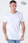 Basic Brand Cam T-shirt 6-Pack White