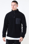 Woodbird Frinck Fleece Zip Black