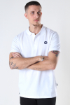 Kronstadt Albert Recycled cotton polo White
