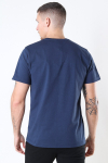 Tommy Jeans Regular Corp Logo T-shirt Twilligt Navy