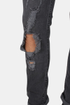 Only & Sons Loom Break Jeans Dark Grey