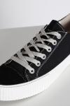 Shoe The Bear Bushwick Canvas Sneakers Black