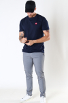 Kronstadt Timmi Organic/Recycled tee Navy