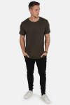 Only & Sons 2pack T-shirt Matt Longy Tee New Exp Forest Night