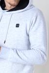 Jack & Jones JCOPOWER SWEAT HOOD BF Light Grey Melange NEW LGM