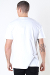 Woodbird Trope Split Tee White