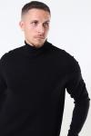 Only & Sons Mikkel 12 Soft High Neck Strik Noos Black