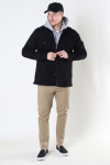 ONLY & SONS ONSNOAR COMPACT LS TC TWILL OVERSHIRT Black