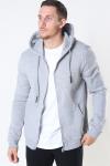 Only & Sons Ceres Life Zip Hoodie Sweat Light Grey Melange