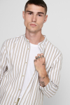 ONLY & SONS ONSMATTHEW LIFELS STRIPE MANDARINE SHIRT Dull Gold