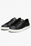 Selected SLHEVAN LEATHER TRAINER B NOOS Black