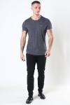 Tommy Jeans Slim Jaspe Crewneck T-shirt Black
