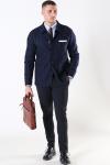 Selected Jackson Tweed Pin Blazer Dark Blue