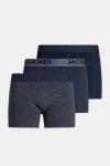 Jack & Jones James Boxershorts 3 pack Navy Blazer/Blue
