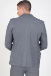 Gabba Daze Jersey Blazer Light Grey Melange