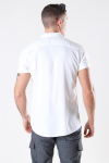 Only & Sons Silo Solid Viscose Skjorte White
