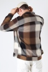ONLY & SONS ONSMACE LIFE LS HEAVY CHECK SJACKET Demitasse