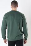 Woodbird Our Braxy Patch Crew Sweatshirt Army