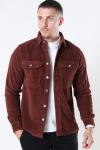 Just Junkies Hagdi Corderoy Overshirt Brown