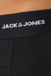 Jack & Jones JACBASIC BAMBOO TRUNKS 3 PACK NOOS Black Black - Black
