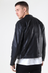 Gabba Bailey One Leather Jacket Black