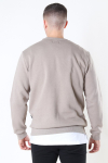Only & Sons Ceres Life Crew Neck Chinchilla