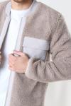 Just Junkies Caps Jacket Light Grey
