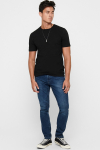 ONLY & SONS ONSALBERT LIFE NEW SS TEE Black