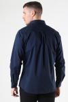 Clean Cut Copenhagen London Stretch Nano Shirt L/S Navy