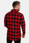 Urban Classics Tb297 Skjorte Red/Black