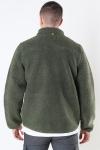 Fat Moose Hugh Fleece Jakke Beetle Green