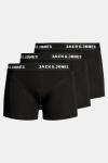 Jack & Jones Anthony Boxershorts 3-Pack Black